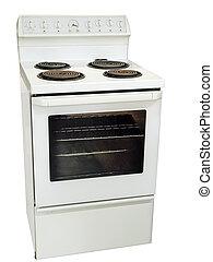 תנור, מטבח, לבן