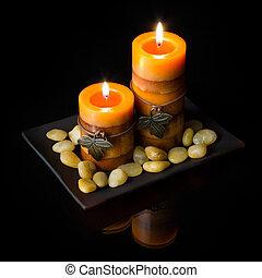 תפוז, נרות, שני