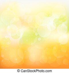 תפוז, תקציר, וקטור, רקע, צהוב