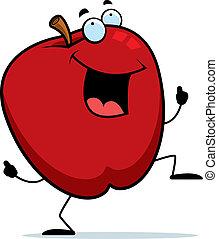 תפוח עץ, לרקוד