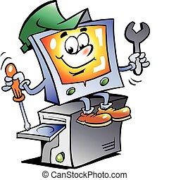 תקן, מחשב, קמיע
