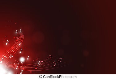 תקציר, מוסיקה רואה