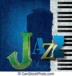 תקציר, מוסיקה של ג'ז, רקע