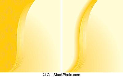 תקציר, רקעים, שני, צהוב