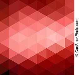 תקציר, רקע אדום, גיאומטרי