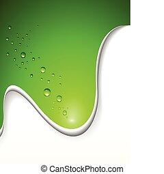 תקציר, רקע ירוק