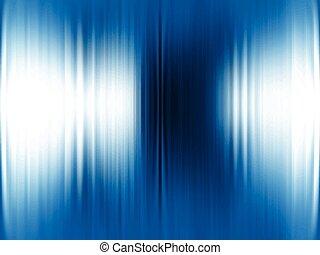 תקציר, רקע כחול, מתכתי, *v*