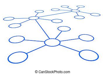 תקציר, רשת, connection.