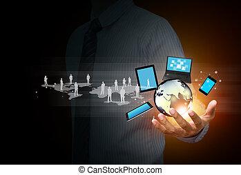 תקשורת, טכנולוגיה, סוציאלי