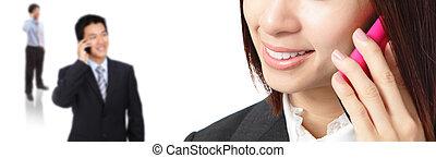 תקשורת, עסק של אישה, איש