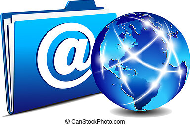 תקשורת, תיקיה, שלח, גלובוס