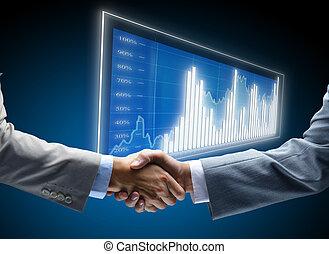 תקשורת, תרשים, עסק, רקע, מושגים, עבודה, ידידים, ידידותי, של איגוד מקצועי, הסכם, ידידות, איש עסקים, הזדמן, התמודד, שחור, סחר, התחלות, הצג, חושך, ממן