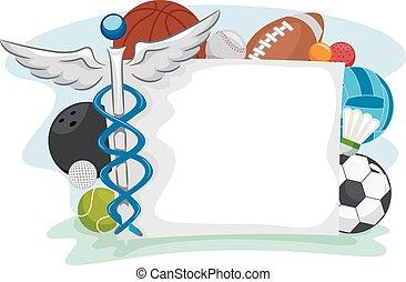 תרופה, הסגר, ספורט