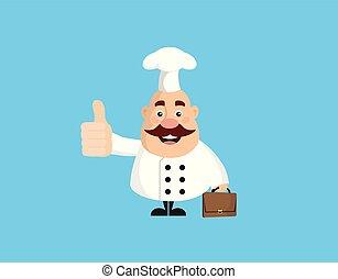 -, להראות, שומן, מצחיק, בוהן, טבח