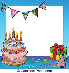 1, הסגר, יום הולדת, תימה
