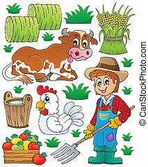 1, תימה, קבע, חקלאי