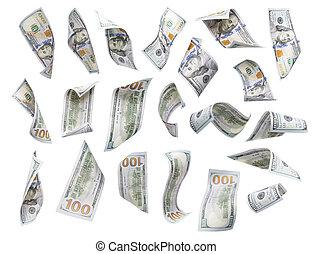 $100, קבע, הפרד, או, כל אחד, לצוף, חשבונות, לפול