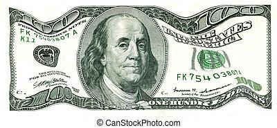 100, רעוע, חשבון של דולר, אותנו