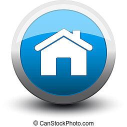 2d, בית, כפתר, כחול