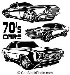 70s, מכוניות
