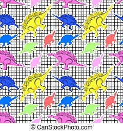 80s, תבנית, דינוזאורים