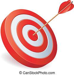 arrow., כוון