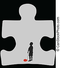 autism, מערה