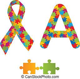 autism, סמלים