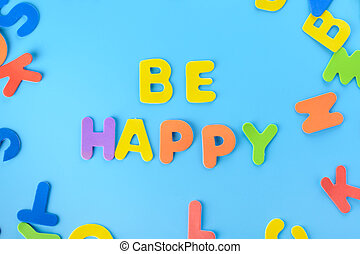 be, חריתה, beautifully, letters., רקע., שים, ססגוני, out, שמח