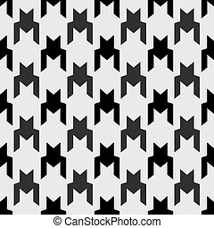be, תבנית, רשת, יכול, עמוד, houndstooth, טקסטורות, seamless, התגלה, השתמש, טפט, התמלא, monochrome., רקע, תבנית
