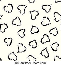 be, תבנית של לב, רשת, pattern., יכול, תקציר, עמוד, טקסטורות, seamless, התגלה, השתמש, טפט, התמלא, רקע