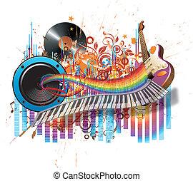 be, תן, זה, מוסיקה