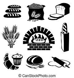 bread, איקונים