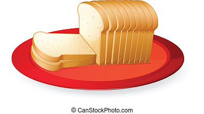 bread, פרוסות