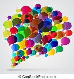 bubbles., נאום
