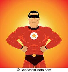 comic-like, סופרגיבור