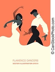 dancers., וקטור, פלאמאנכו, קשר, דוגמה