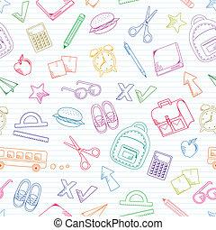 doodles, בית ספר