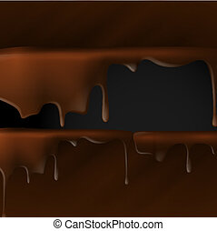 dripping., המס, שוקולד