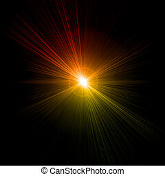 effect., אור, וקטור, הבהק