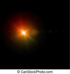 effect., אור, תקציר, וקטור, הבהק