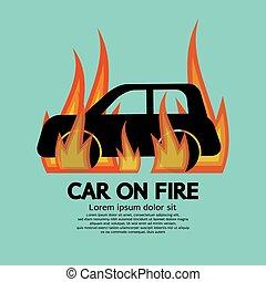 fire., מכונית