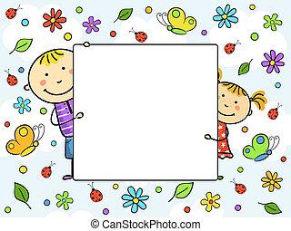 frame., ילדים