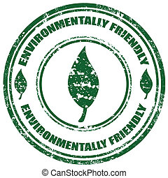 friendly-stamp, באופן סביבתי