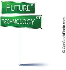 future-technology, חתום., כיוון