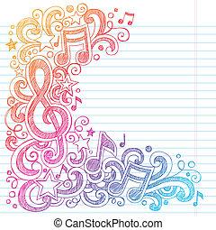 *g*, רואה, sketchy, מוסיקה, doodles, כלאף