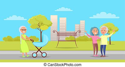 grandparentson, לך, גברת, בכור, פראם, שמח