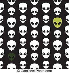 head., extraterrestrial., alien.