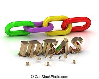 ideas-, צבע, מואר, מכתבים, שלשל, חריתה