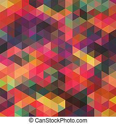 it., משולש, רקע., צבעוני, תבנית, הציין, shapes., משולשים, רקע., רקע, היפסטאר, מוזאיקה, טקסט, שים, גיאומטרי, שלך, רקע, ראטרו